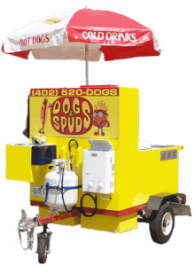 Dogs & Spuds Hot Dog Cart