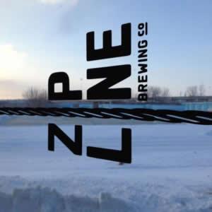 Zipline Logo against Snow