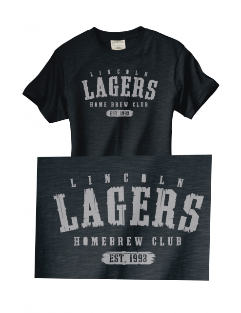 lincoln lagers, screen ink, t-shirt, tees, homebrew, home brew club, lincoln, nebraska